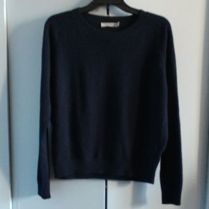 VINCE CASHMERE SWEATER NAVY